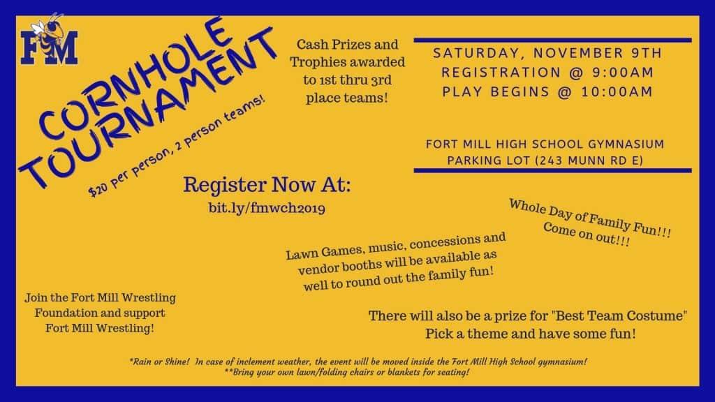 2019 Cornhole Tournament